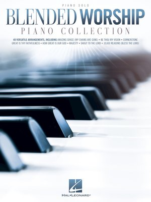 cover image of Blended Worship Piano Collection