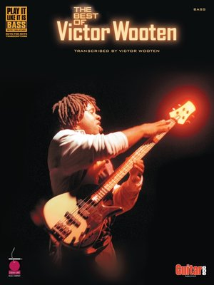 cover image of The Best of Victor Wooten (Songbook)