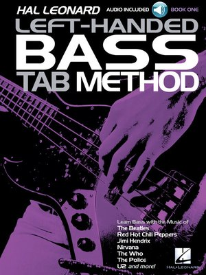 cover image of Hal Leonard Left-Handed Bass Tab Method--Book 1