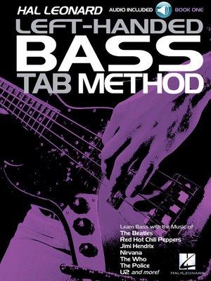 cover image of Hal Leonard Left-Handed Bass Tab Method--Book 1