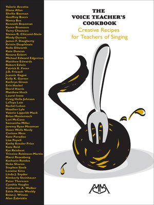 cover image of The Voice Teacher's Cookbook