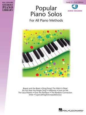 cover image of Popular Piano Solos --Level 2
