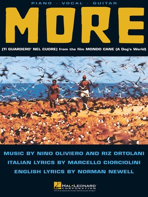 cover image of More--Theme from Mondo Cane