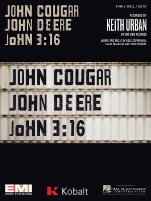 cover image of John Cougar, John Deere, John 3