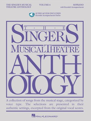 cover image of The Singer's Musical Theatre Anthology--Volume 6