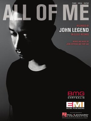 cover image of All of Me Sheet Music