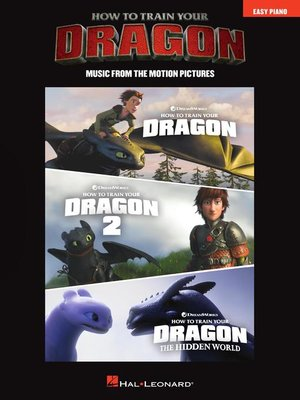 cover image of How to Train Your Dragon Songbook
