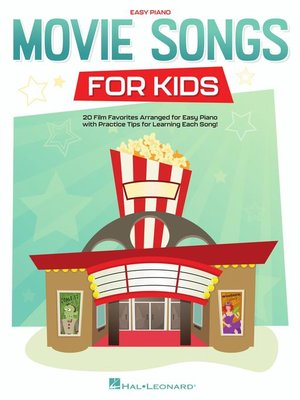 cover image of Movie Songs for Kids Easy Piano