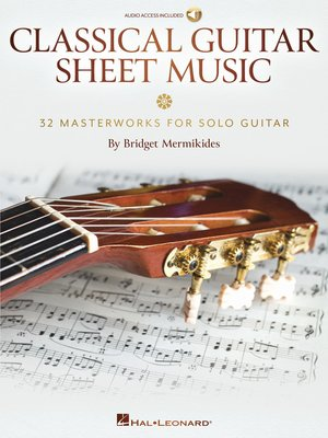 cover image of Classical Guitar Sheet Music