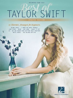 cover image of Best of Taylor Swift--Beginning Piano Solo