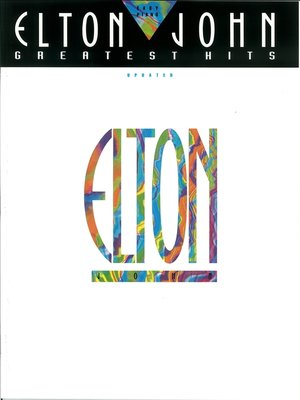 cover image of Elton John--Greatest Hits Updated (Songbook)