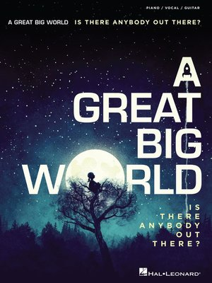 cover image of A Great Big World--Is There Anybody Out There?
