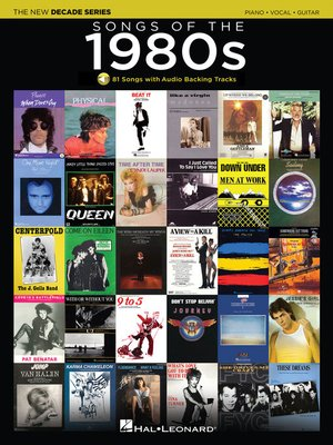 cover image of Songs of the 1980s Songbook