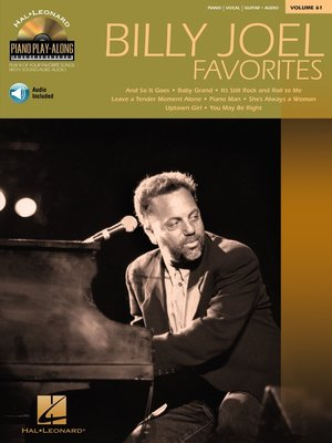 cover image of Billy Joel Favorites Songbook