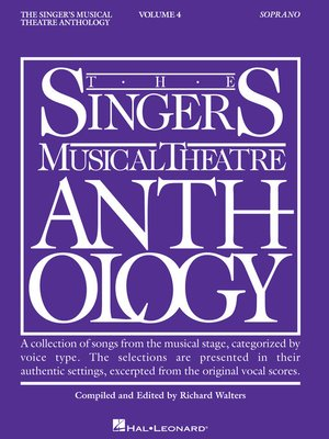 cover image of Singer's Musical Theatre Anthology--Volume 4