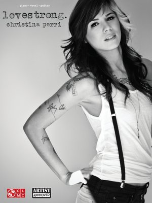 cover image of Christina Perri--lovestrong. (Songbook)
