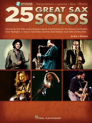 cover image of 25 Great Sax Solos