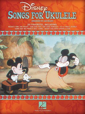 cover image of Disney Songs for Ukulele