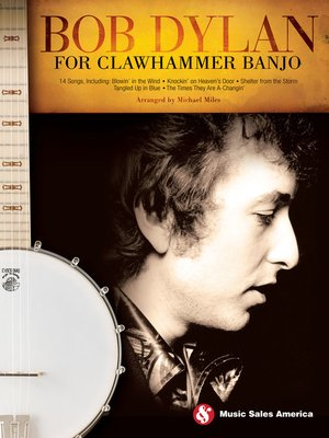cover image of Bob Dylan for Clawhammer Banjo