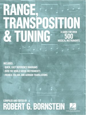 cover image of Range, Transposition and Tuning