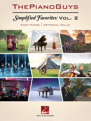 cover image of The Piano Guys--Simplified Favorites, Volume 2