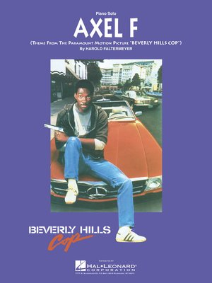 cover image of Axel F Sheet Music
