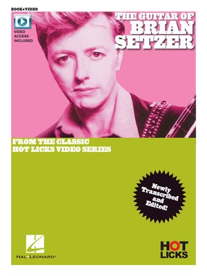 cover image of The Guitar of Brian Setzer