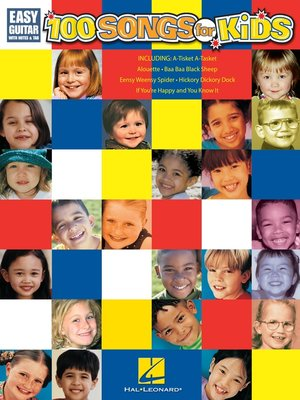 cover image of 100 Songs for Kids (Songbook)