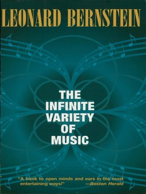 cover image of The Infinite Variety of Music