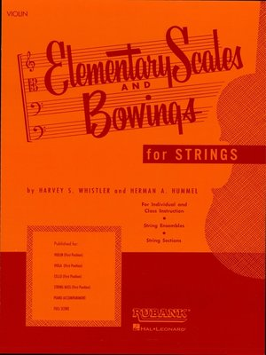 cover image of Elementary Scales and Bowings--Violin (Music Instruction)