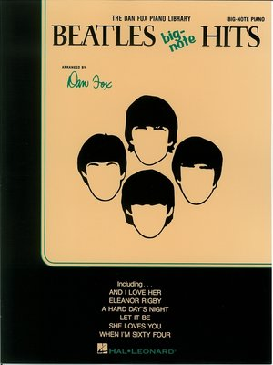 cover image of Beatles Big Note Hits (Songbook)