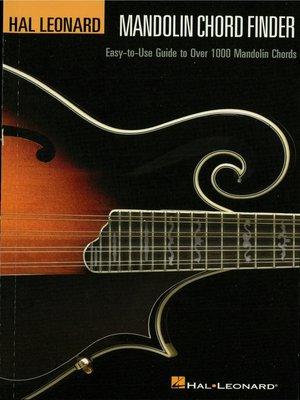 cover image of Mandolin Chord Finder (Music Instruction)
