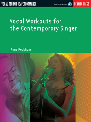 cover image of Vocal Workouts for the Contemporary Singer