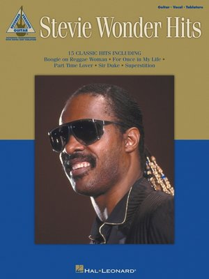 cover image of Stevie Wonder Hits (Songbook)