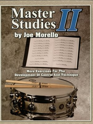 cover image of Master Studies II (Music Instruction)