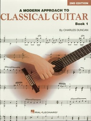 cover image of A Modern Approach to Classical Guitar  (Music Instruction)