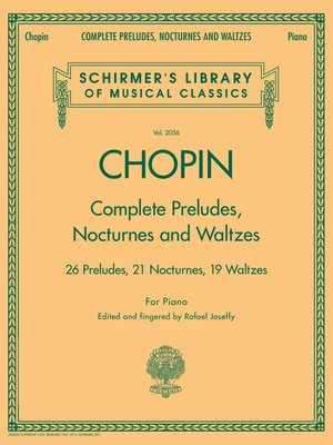 cover image of Complete Preludes, Nocturnes & Waltzes
