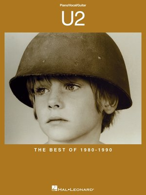 cover image of U2--The Best of 1980-1990 (Songbook)