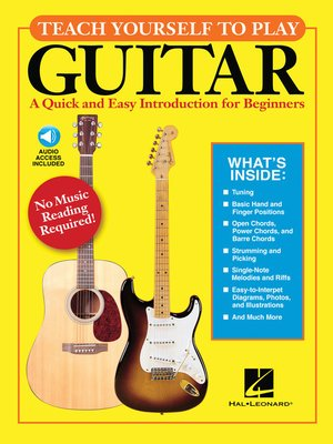 cover image of Teach Yourself to Play Guitar