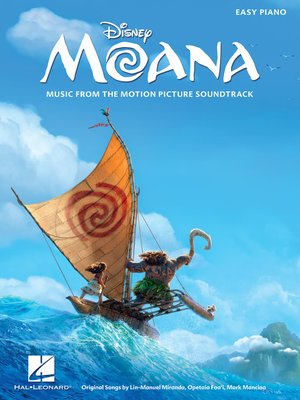 cover image of Moana Songbook