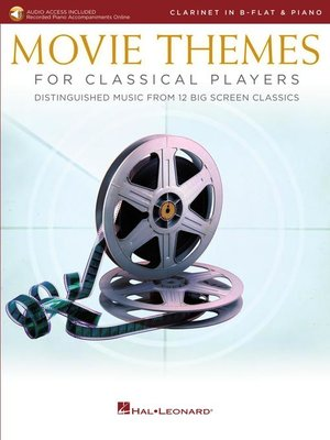 cover image of Movie Themes for Classical Players