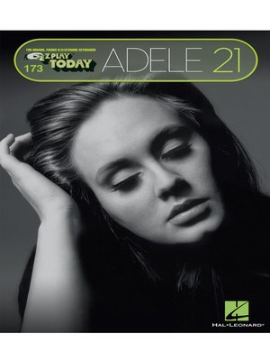 cover image of Adele--21 (Songbook)
