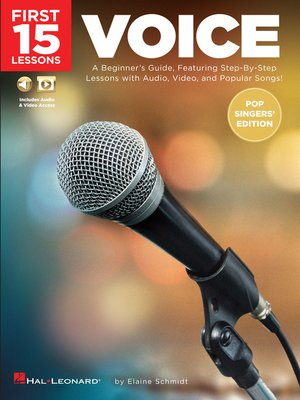 cover image of First 15 Lessons--Voice (Pop Singers' Edition)