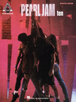 cover image of Pearl Jam--Ten (Songbook)