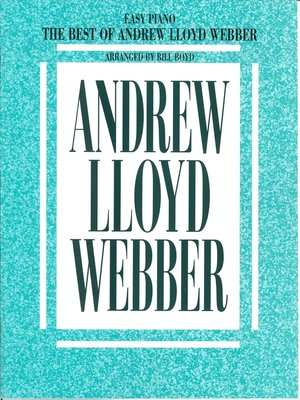 cover image of The Best of Andrew Lloyd Webber (Songbook)