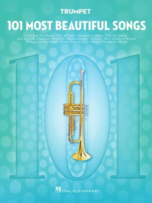 cover image of 101 Most Beautiful Songs for Trumpet