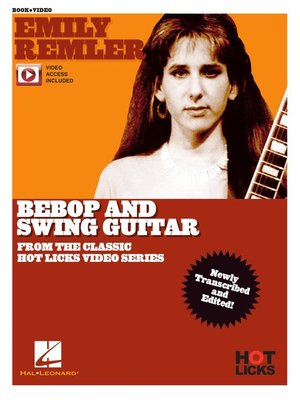 cover image of Emily Remler--Bebop and Swing Guitar