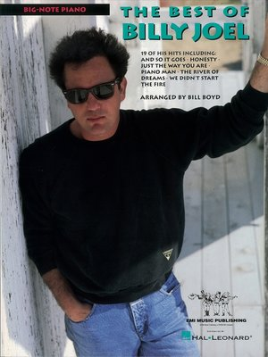 cover image of Best of Billy Joel (Songbook)