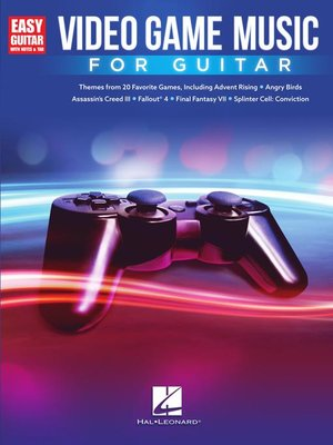 cover image of Video Game Music for Guitar Songbook