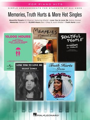 cover image of Memories, Truth Hurts & More Hot Singles Songbook
